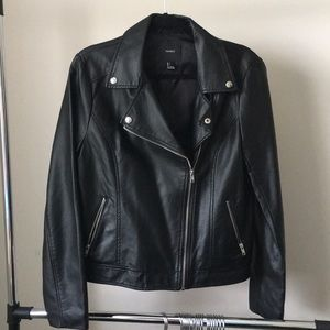 Forever 21 Jackets & Coats - Black Faux Leather Jacket by Forever 21